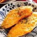 トースターで簡単おやつ【焼き芋にチーズ】(動画レシピ)
