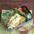 """お弁当のごはんに""""鶏むね肉のタルタルチキンカツ丼"""" by kaana57さん"""