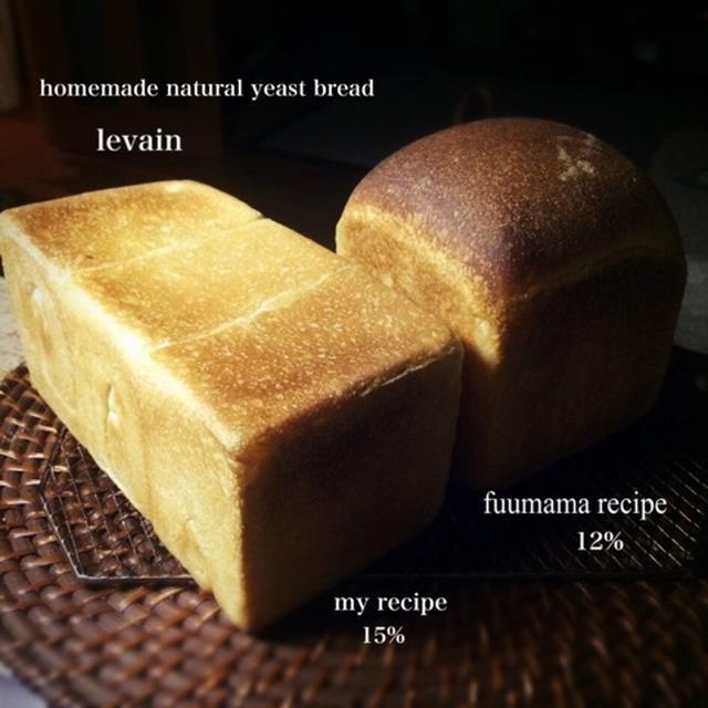 ルヴァン食パン。酸味の検証
