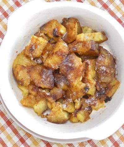 オーブントースターで簡単!秋の残りものリメイクおやつ焼き芋スイートポテト。