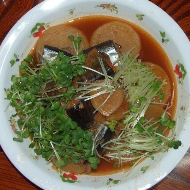 サンマのコチュジャン煮&キムチ炒飯