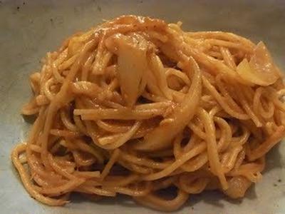 無水で作る☆濃厚ツナトマトスパゲッティーとミツバチ見学会