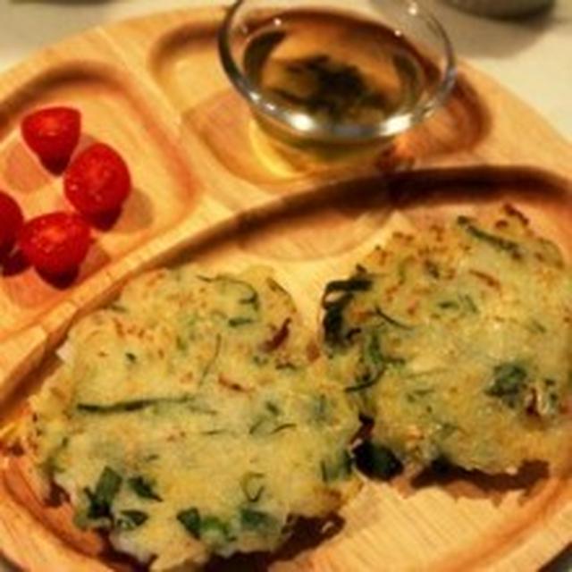 【クックパッド話題入り】離乳食後期~米粉と白菜のお好み焼き風