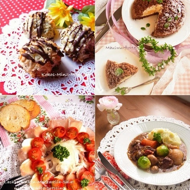 Happy Valentine's Day ♪ バレンタインのスイーツ・お料理レシピ集
