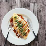 【レシピ】白菜1/4玉ぺろり♡白菜のチーズオムレツとアボカドダイエット@7日目