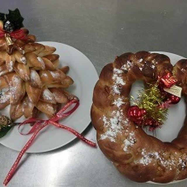 クリスマスツリーパン作り(2回目)