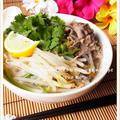 牛薄切り肉で簡単♪ フォーボー(牛肉のフォー)風 by 庭乃桃さん