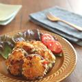 トースターで簡単◎しいたけの香草パン粉チーズ焼き