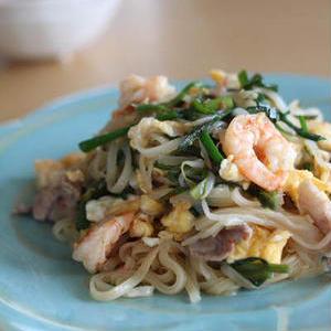 エスニックな味わいにやみつき!タイ風「ビーフン」アレンジレシピ