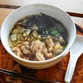 鳥中華。インスタントの袋麺を買わなくてもおうちで簡単休日ランチ。