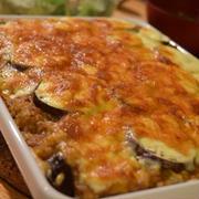残りカレーで、カレードリア。焼けたナスとチーズがうまい バンダナネコ パパの料理塾 7月25日(水)オムライスで家族を笑顔にする講座。参加者募集中