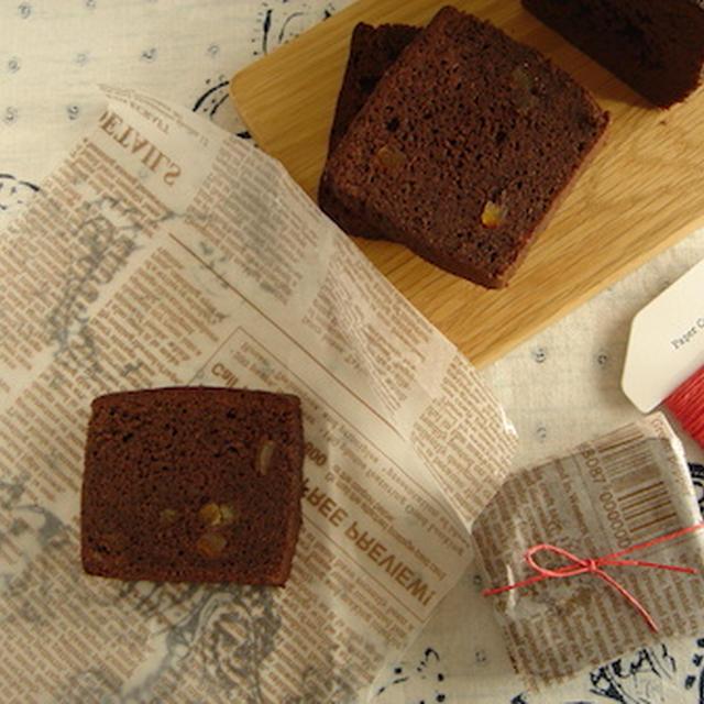 バレンタインに!濃厚♪チョコレートケーキ。