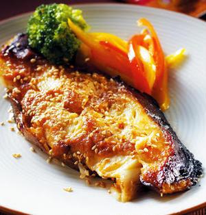 味噌烤圓鱈│タラ切り身の味噌焼き