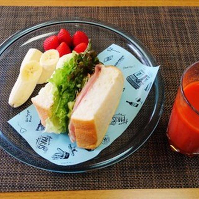 大阪応援企画おおさかもん☆ハムのサンドイッチ♪☆♪☆♪