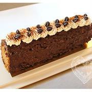 * チョコがけケーキ。 *