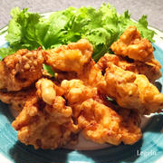 鶏むね肉で柔らか塩唐揚げ☆ヨーグルトで一晩 ♪ 簡単節約料理