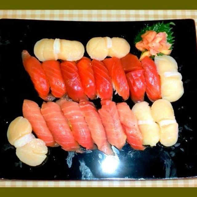 今夜はにぎり寿司