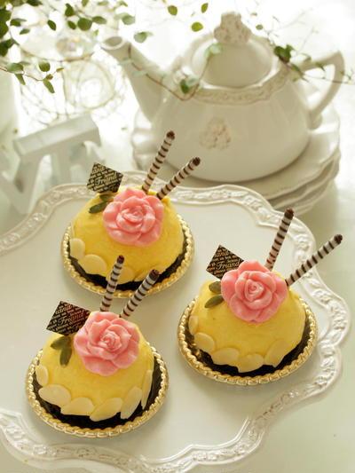 * キュート ♡ パンプキン・チーズケーキ♪