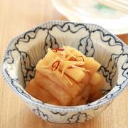 【レシピ】『大根の生姜酢醤油漬け』