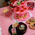 2013雛祭りメニュー*お雛様デコちらし寿司ブランチなおうちゴハン