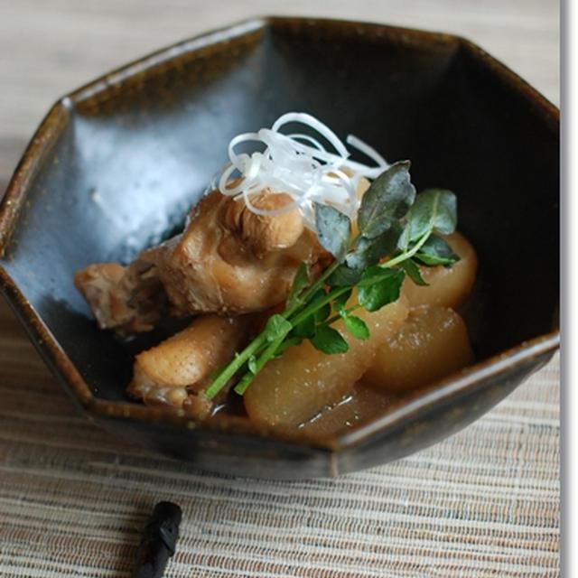 手羽大根の味噌煮