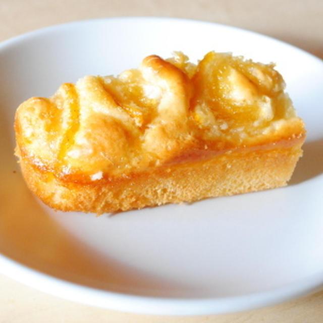 超簡単ノンオイルケーキ+ユズの砂糖漬け  non-oil yuzu cake