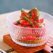 食べ方いろいろ!5分以内で作る「ざく切りトマト」おかず