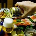 続【居酒屋風正月料理 1月2日夜の部編で 自家製握り寿司/野菜天/豚味噌漬け焼き他です♪】