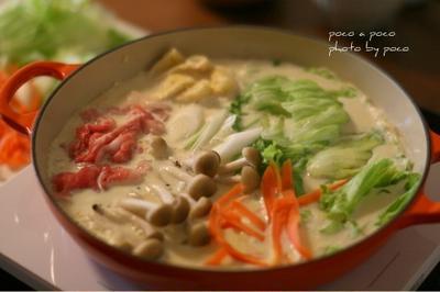 シンプル豆乳鍋