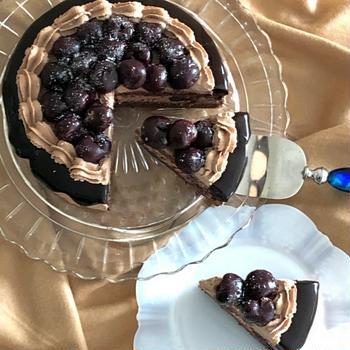 バレンタインに!ブラックフォレストケーキ