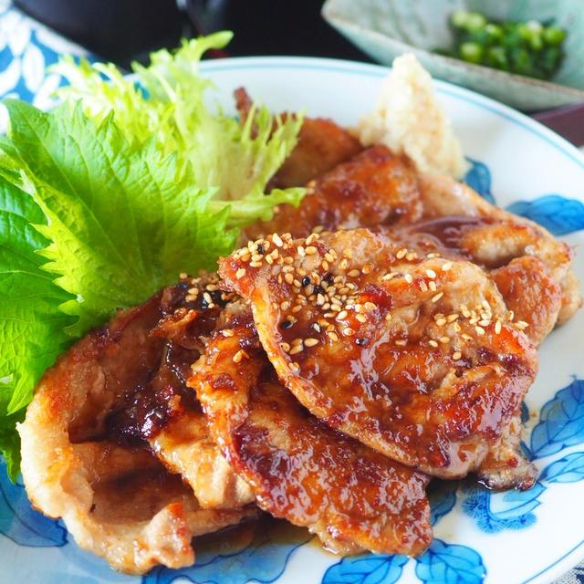 【定番生姜焼きのコツ】❣️絶品黄金比タレで豚肉のしょうが焼き