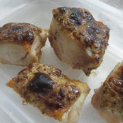 鶏もも肉のカレー風味マヨネーズ焼き