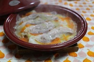 タジンでお手軽ミルフィーユ鍋