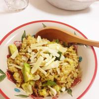 サブジの素を使って野菜たっぷり炒飯