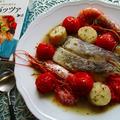 3ステップで完成!たっぷり魚介の旨み溢れるアクアパッツァ♪《ホタテ貝柱・海老・タラ・プチトマト》 by ハッピーさん