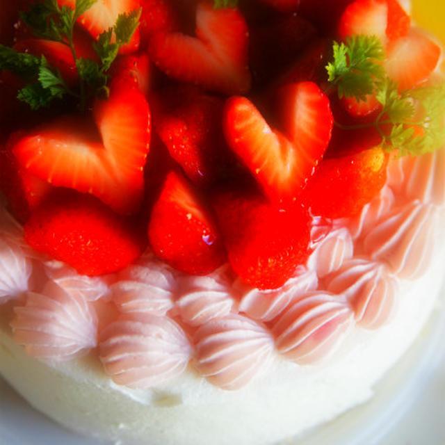 いちごのケーキ♪