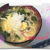 【Recipe】ツナと卵のねぎ塩風味うどん