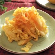 冬至に♪柚子風味 白菜と人参の甘酢醤油漬け