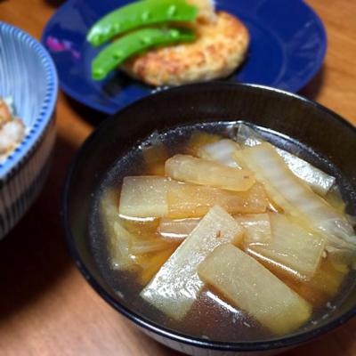 ☆大根と白菜のスープ
