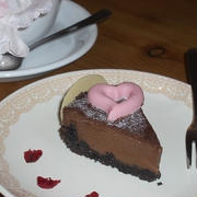 市販のお菓子を使って可愛く☆かんたんチョコタルト☆
