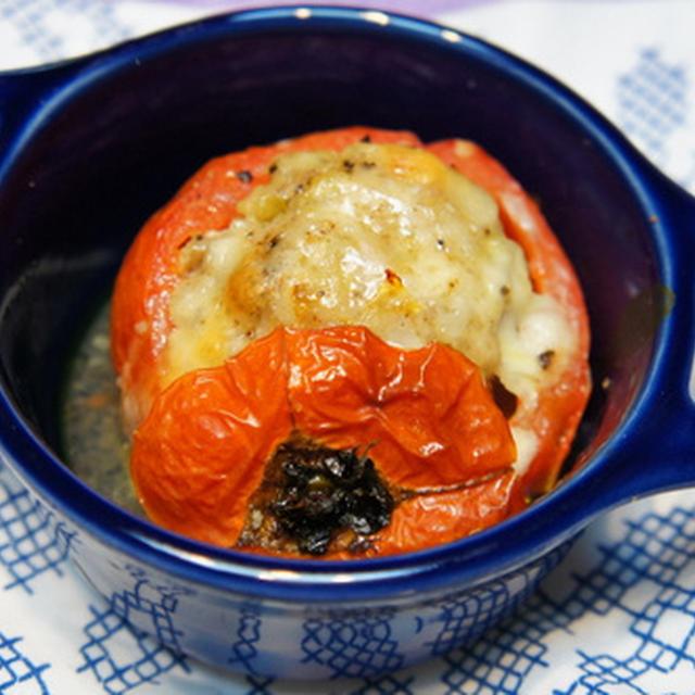 トマトの詰め物オ―ブン焼き