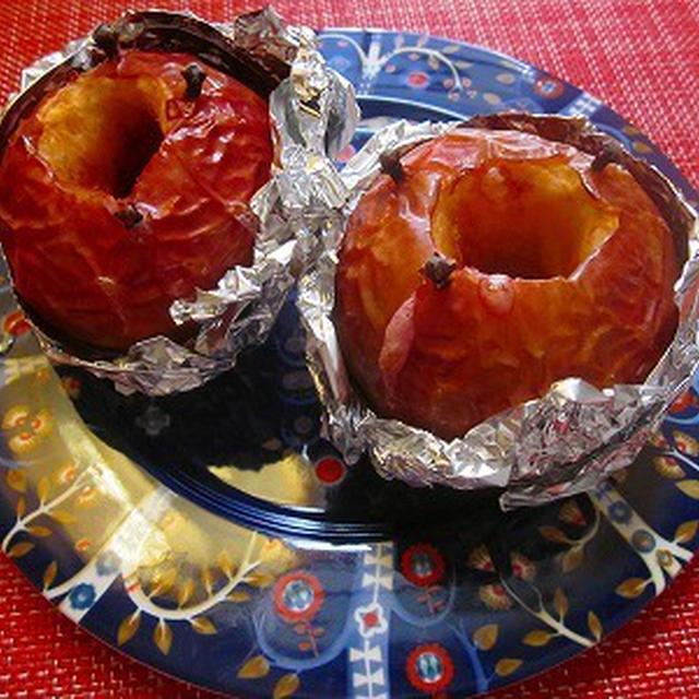 クローブ香るココナッツオイルで焼きりんご