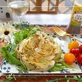 和えるソースで♪焼きナスとチーズの『冷製パスタ』&三井生命定期訪問チラシ掲載 by 桃咲マルクさん