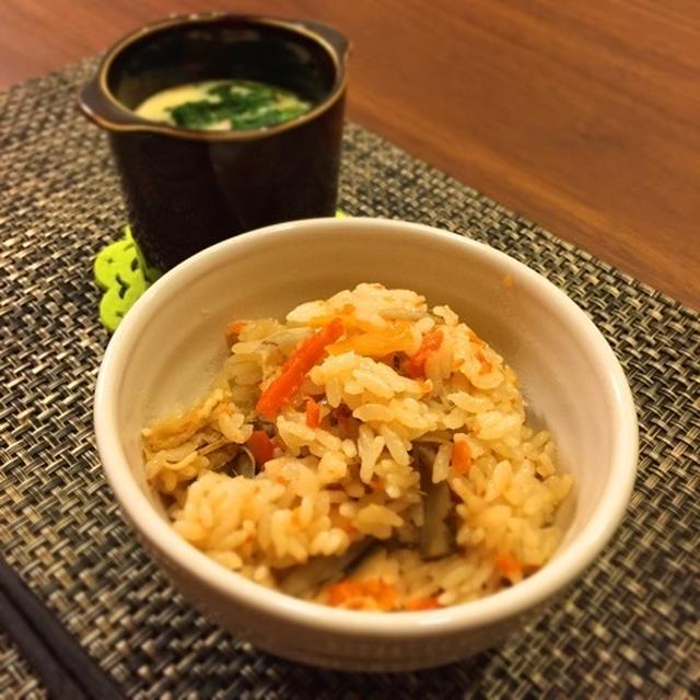 美味♡にんじんツナの炊き込みご飯と仮面ライダーごっこ・LINE