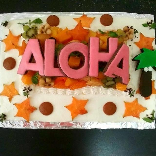 ☆トロピカルフルーツ・ケーキ☆