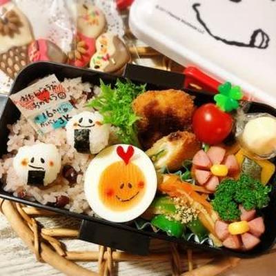 お誕生日おめでとう♡…どころじゃないやん(笑) ~かわいいJK弁当♡~