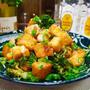 【レシピ】厚揚げとブロッコリーのめんつゆバター炒め