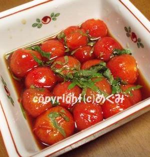 プチトマトの南蛮漬け