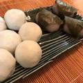 学校で作ったお菓子たち *薯蕷饅頭*桜餅*モンブラン*イチゴのショートケーキ