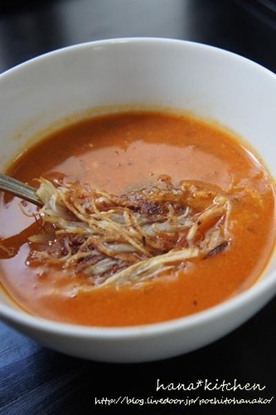 野菜ジュースで作る簡単野菜スープ